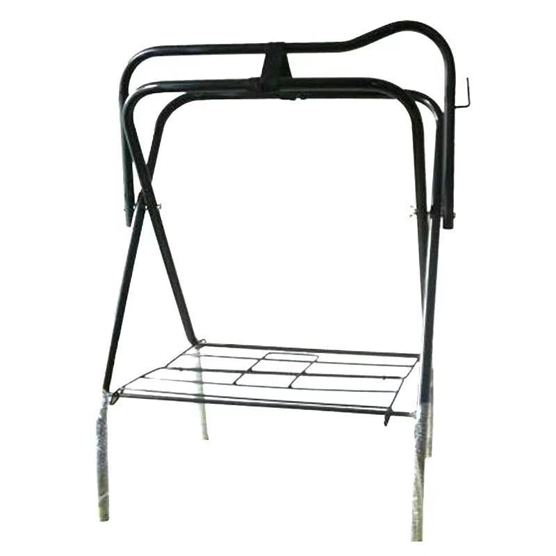 portable lightweight tubular saddle rack stand in painted metal buy portable saddle rack rack stand in painted metal tubular saddle rack product on