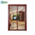NZS4211 As2047 New Zealand Style Aluminum Frame Temper Glass Exterior Slide Door