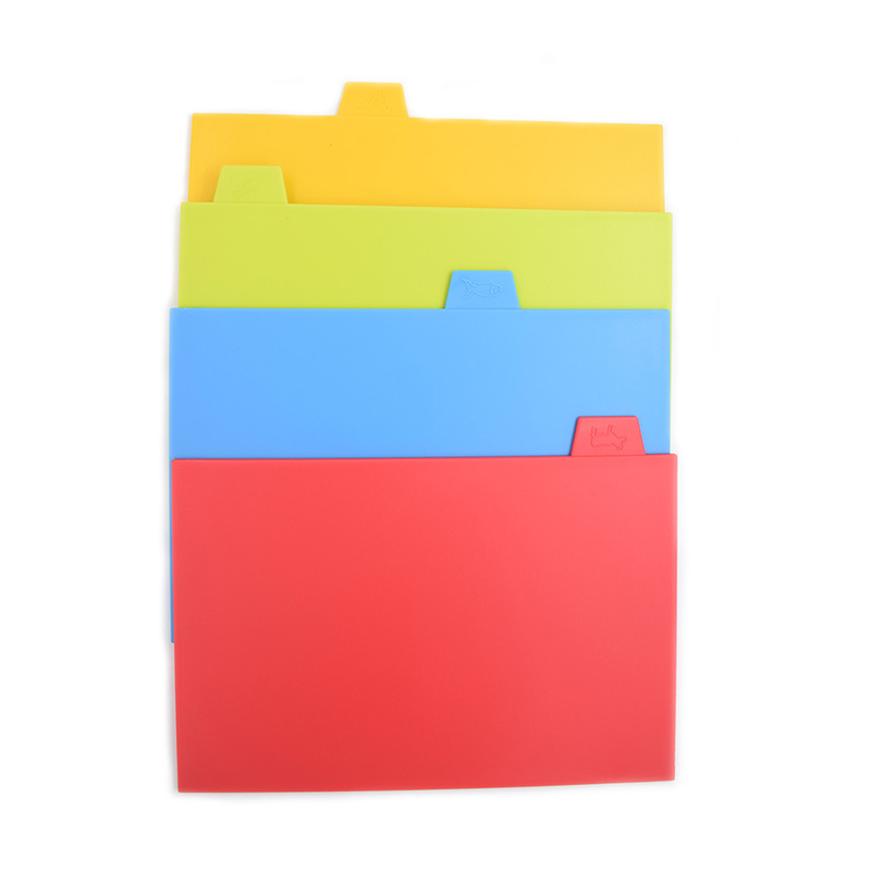 Free sample in stock wholesale board cutting folding plastic flexible chopping cutting boards for kitchen