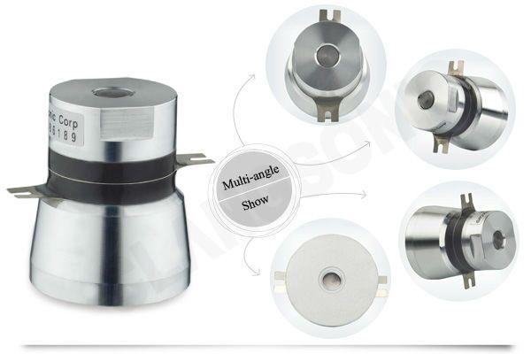 2015 new designed 50w 40khz piezo ultrasonic langevin transducer