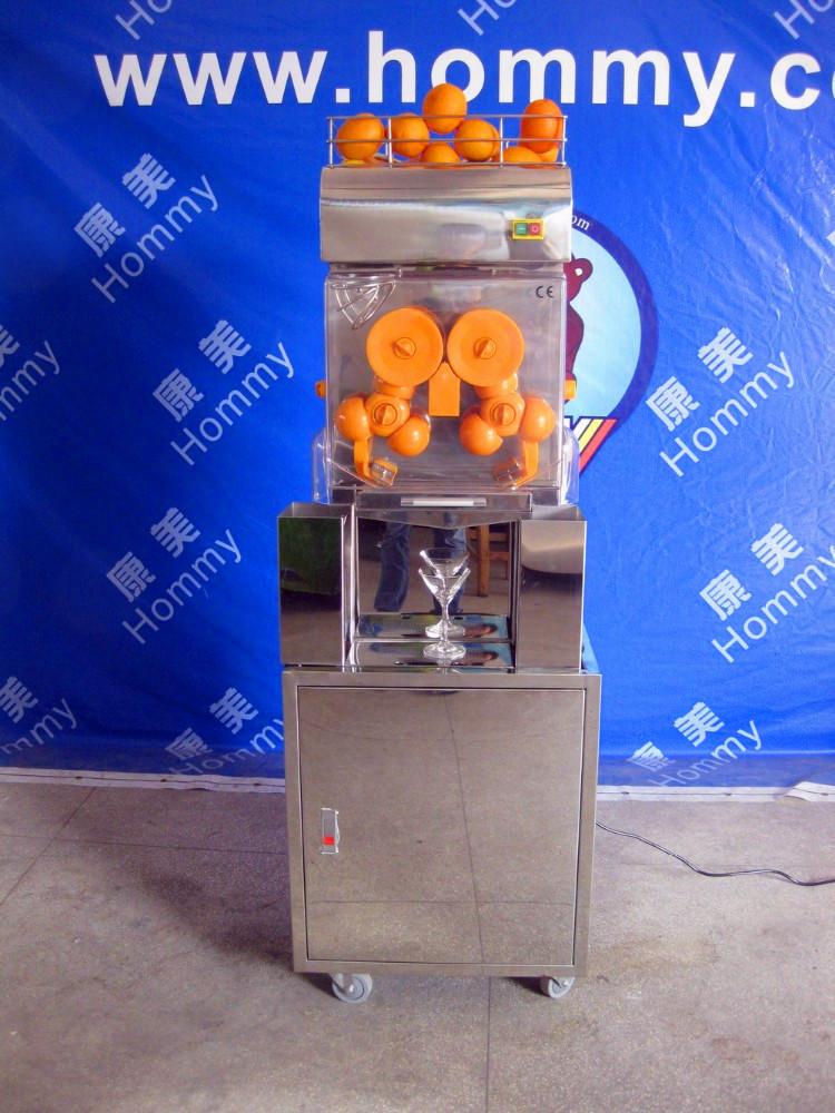 Оптовая продажа Апельсиновая соковыжималка автоматическая машина для фруктов