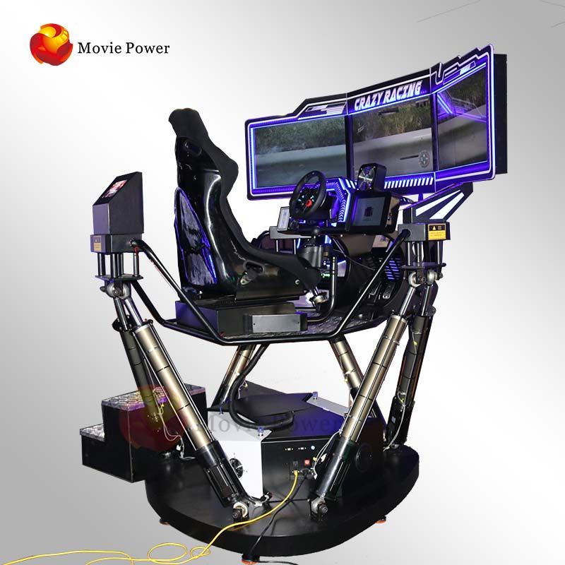Pendapatan Uang Kursi Gerak 6 Dof Simulator Balap Mobil 4d Penampilan Keren Mesin Game Balap Vr 3 Layar Teknologi Tinggi Buy 3 Layar Vr Game Balap Mesin 6 Dof Gerak Kursi 4d Mobil Balap