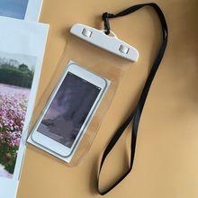 6-дюймовые герметичные водонепроницаемые сумки для телефона с ремешком, защитный чехол, чехол для уличного защитного чехла, сумки для плава...(Китай)