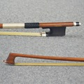 D Peccatte Model TOP HARD Master Pernambuco Violin Bow 4 4 SILVER Mounted Well Flexibility Free