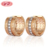 Korean Style 18K Gold Earrings For Women Jewelry