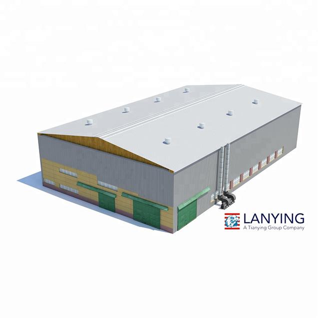 Складские сборные стальные конструкции с индивидуальным дизайном