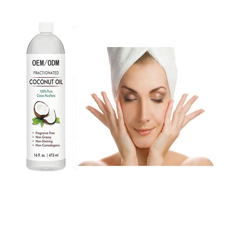 Оптовая продажа, натуральное кокосовое масло для ухода за кожей