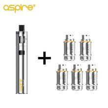 Электронная сигарета, набор вейпа Aspire PockeX Pocket AIO Kit, подходит для 0,6 Ом, 316L, SS, U Tech, электронная сигарета, вейп Pen Kit Vapeador(Китай)