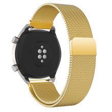 Металлический ремешок Milanese Magetic для Huawei Watch GT GT2, умный ремешок для часов из нержавеющей стали для мужчин и женщин, ремешок для Huawei Honor Magic(China)