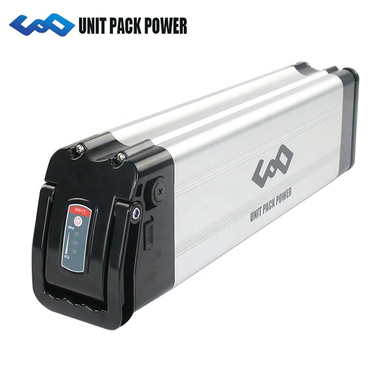 Silver Fish Type USB Charge Beach Cruiser 24V 20Ah Lithium Battery with Key and Lock