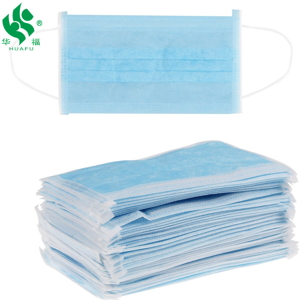 disposable nonwoven face mask ear loop type CE cheap disposable face mask