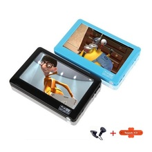 HD Touch Screen 8gb MP4 MP5 Player With Speaker Av Out Game Console 4.3  MP4 MP5 Player FM Radio MP4 Recorder Mini Music Player