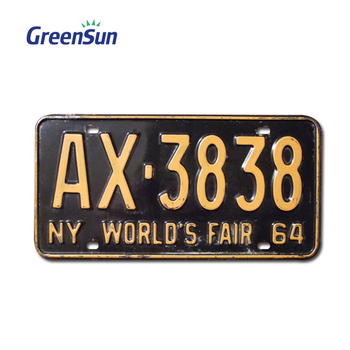 2020 Cheap Price custom aluminium tin magnet motorcycle tag blank bike car number license plate