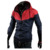 New Style Fashion Man Hooded Casual Active  Color Matching 100% polyester Windbreak Jackets