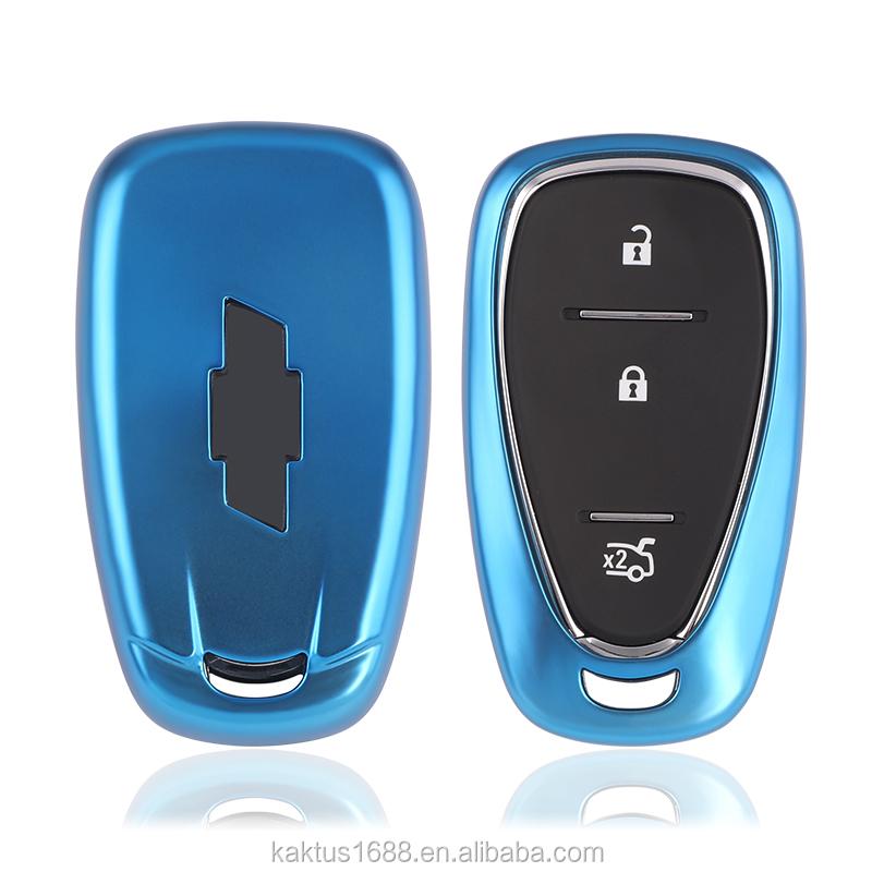 Чехол для автомобильного ключа из ТПУ для Chevrolet CRUZE MALIBU XL TRAX EQUINOX