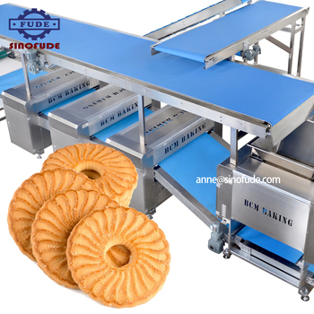 Full automatic hard and soft biscuit production line for Large industry biscuit factory