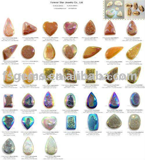 جميع أنواع الأشكال والأحجام ومتعددة الألوان من العقيق الطبيعي والأحجار الكريمة الكوارتز Drusy Buy Natural Drusy Gemstone Loose Drusy Gemstones Drusy Agate Product On Alibaba Com