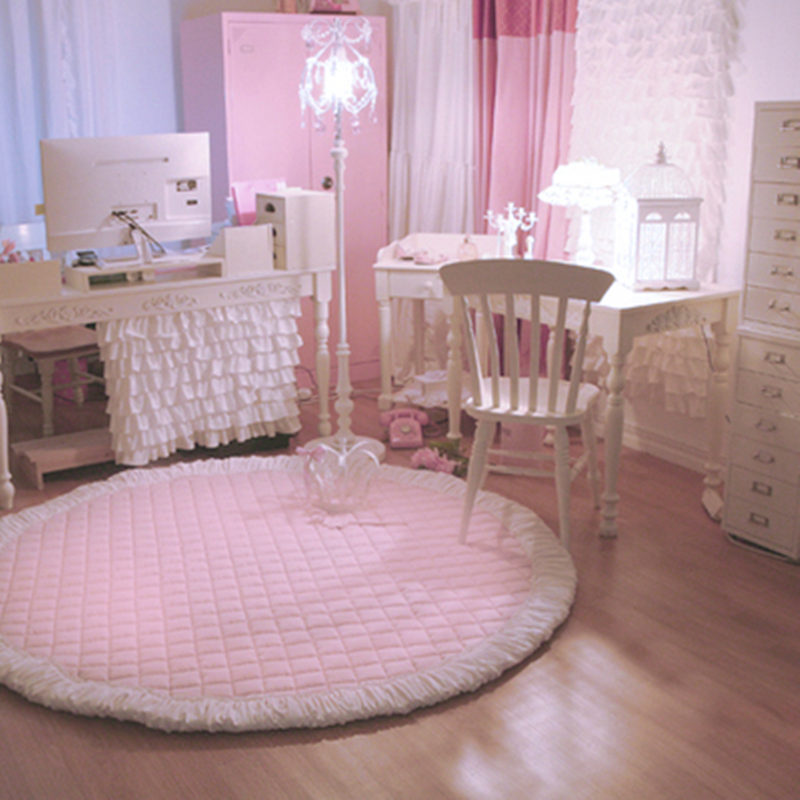 Aliexpress.com : Buy New Princess Carpet Bedroom Pink Rug