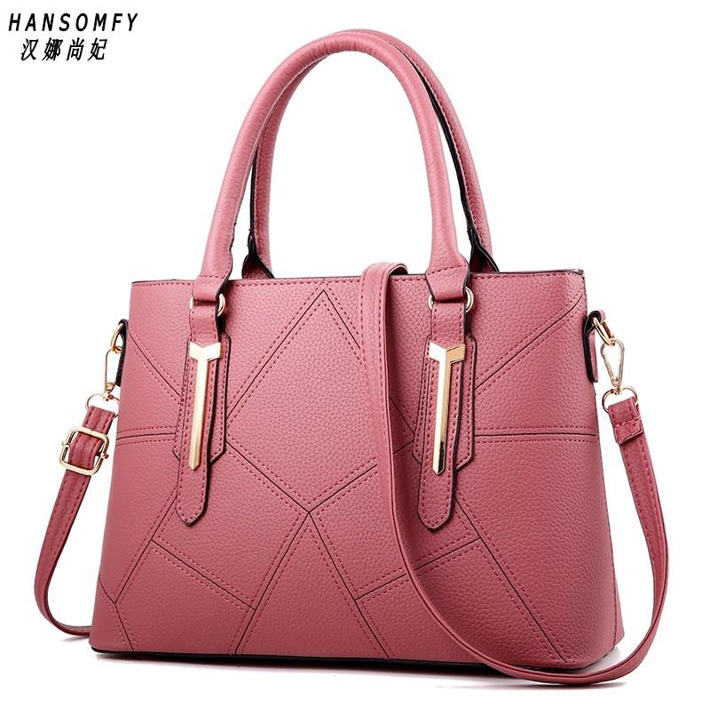 Женские сумки из 100% натуральной кожи, новинка 2020, Женская милая и стильная сумка в Корейском стиле, Наплечная Сумка(Китай)