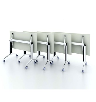 Modern handy movable adjustable office folding training table