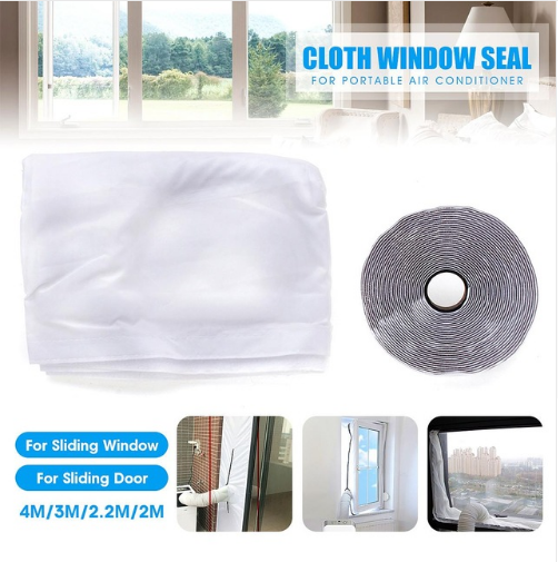 Airlock Window Seal Cloth Plate Sealing For Mobile Air Conditioners Air-Conditioning Units waterproof Soft Home Flexible