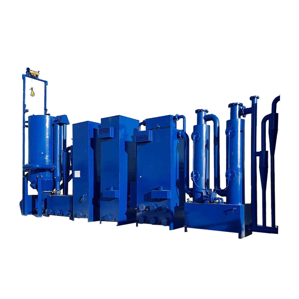 200kw биомасса syngas Малый газификатор древесины