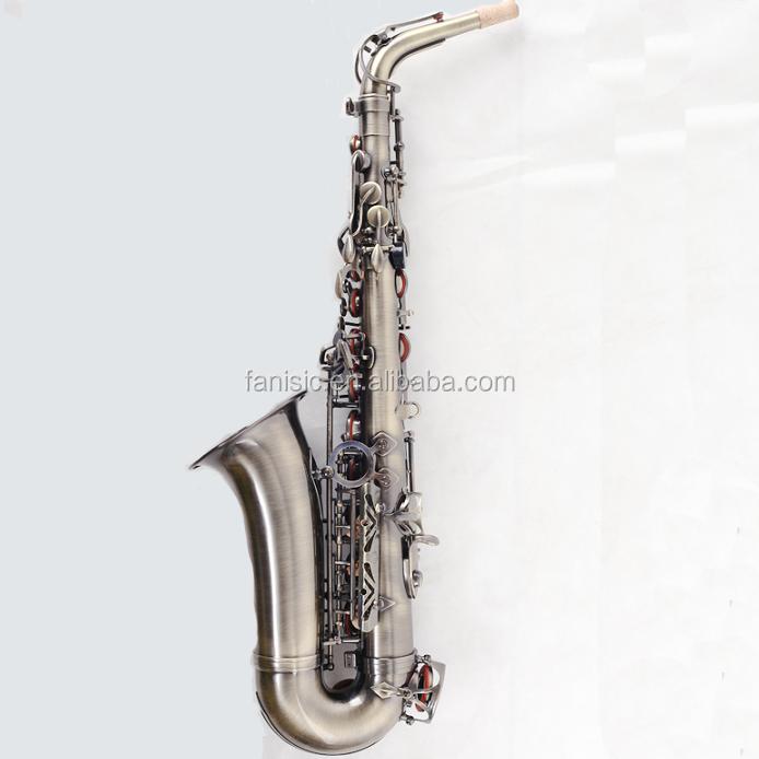 Альт-саксофон античного цвета, тон саксофона Eb, альт-саксофон