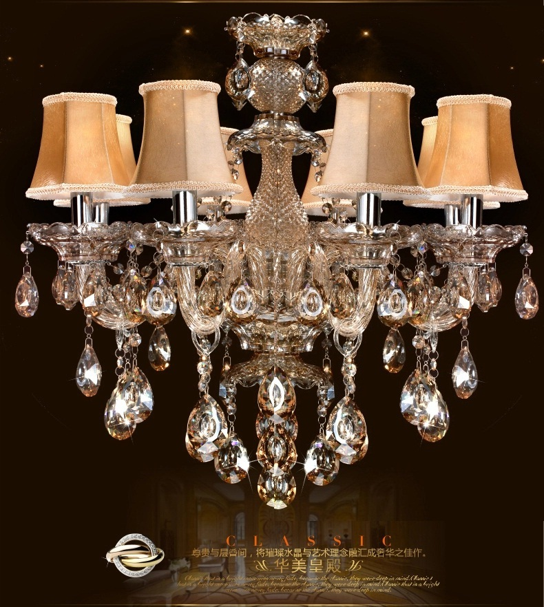 Glass Chandeliers For Dining Room: Vintage-Free-Shipping-crystal-Lighting-chandelier-indoor