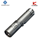 KLARUS Mi7 Ti XP-L 700 Lumens IPX-8 Rating Small and Lightweight for Everyday Carry LED Flashlight by AA x 1 Battery
