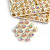 Di cristallo AB + oro artiglio