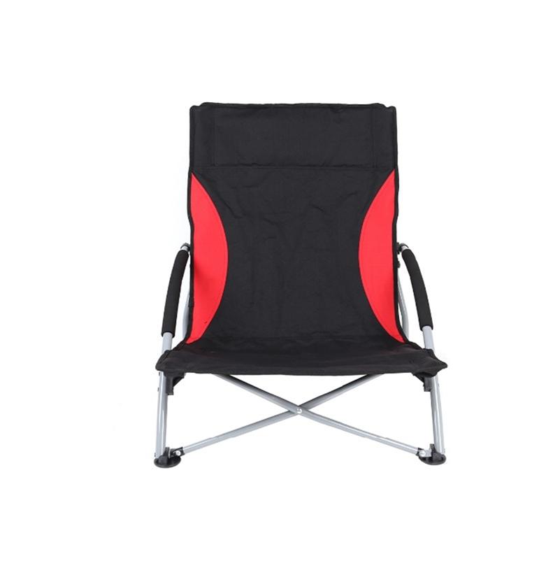 Складной цветной тканевый Кемпинг Алюминиевый откидной стул