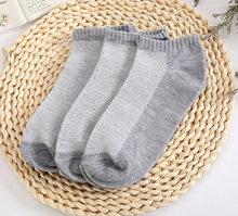 20 шт. = 10 пар однотонных сетчатых женских носков, невидимые короткие носки, женские летние дышащие тонкие лодочкой, носки больших размеров, е...(Китай)