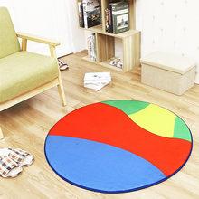 Новый нескользящий коврик из полиэстера RFWCAK, круглый коврик для компьютерного кресла, футбольного мяча, баскетбола, гостиной, детские коври...(Китай)