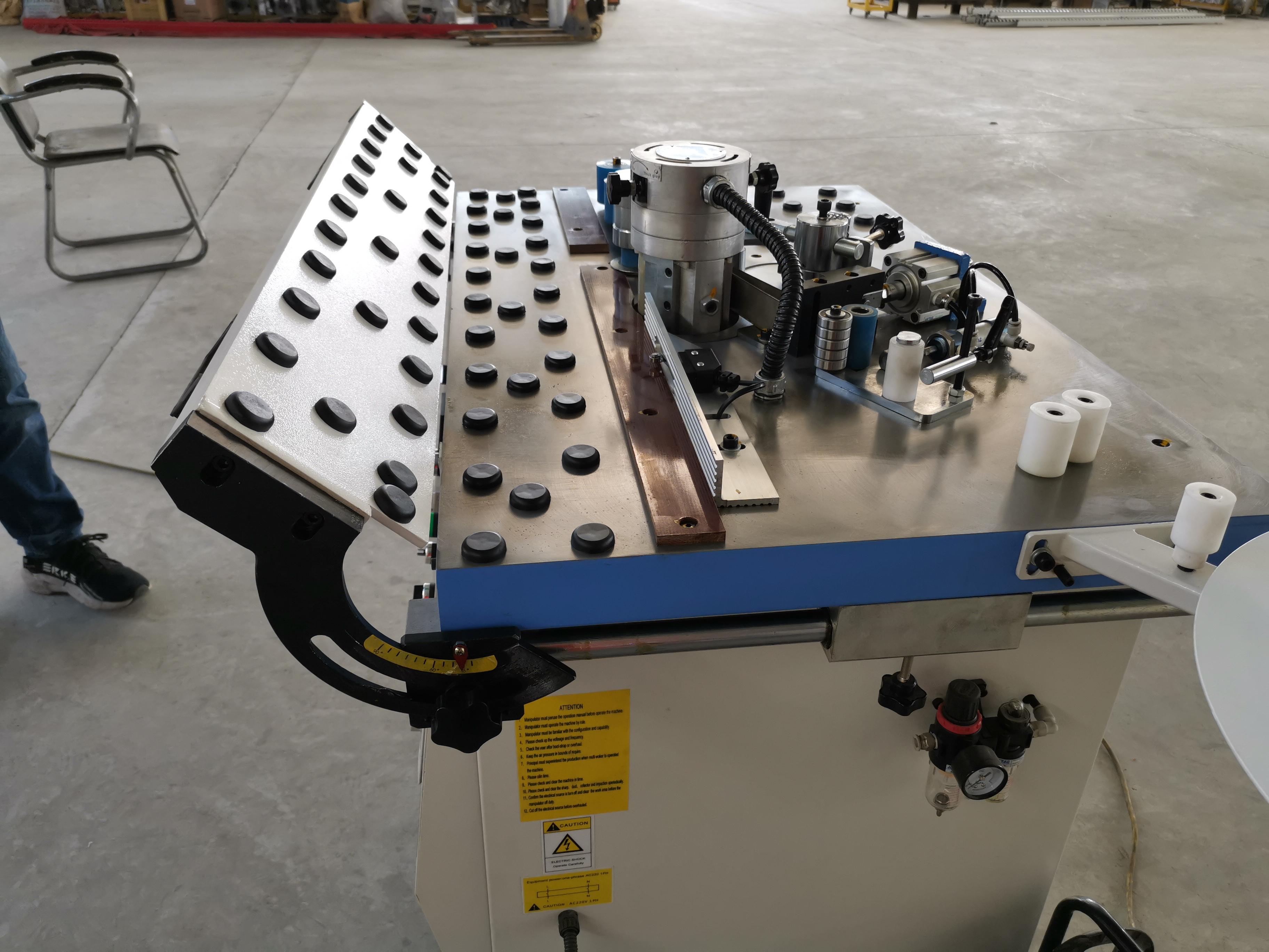ZICAR MF515A manual edge banding machine with woodworking
