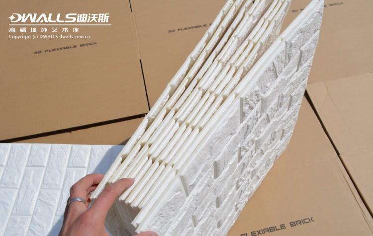 Wholesale Korean Style Pe Foam 3d Brick Self Adhesive