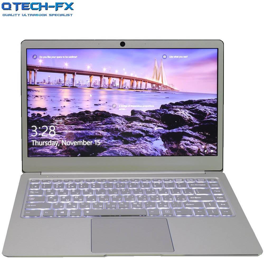 "14 ""Ноутбук металлический 8 Гб RAM SSD 512 ГБ 256 ГБ 128G процессор Intel Windows бизнес арабский Французский Испанский Русский клавиатура с подсветкой сер...(Китай)"