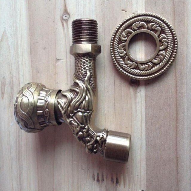 2019 New Retro Decorative Outdoor Faucets Antique Bronze