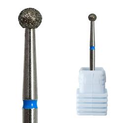 Алмазные буровые долота для ногтей в форме шара, буровые долота для кутикулы