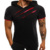 2019 summer Men Hole Short sleeve Camouflage Fitness Muscular man Fold Hooded T-shirt GYM clothes Sweatshirt Tees