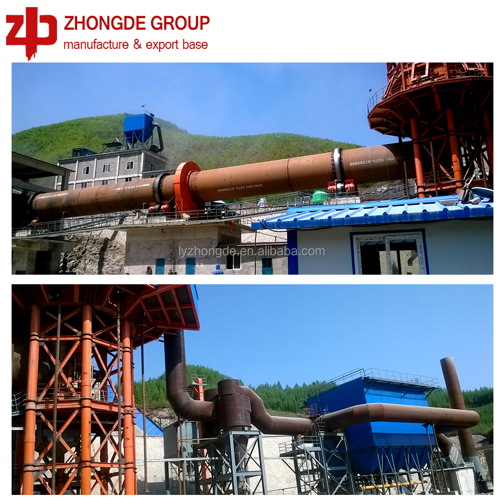 High efficiency Porcelain granule & Active lime rotary kiln used for mining, quarry