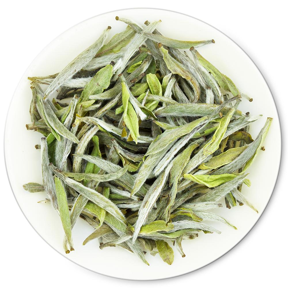 Chinese Premium Organic Yin Zhen Silver Needle White Tea EU Standard - 4uTea | 4uTea.com