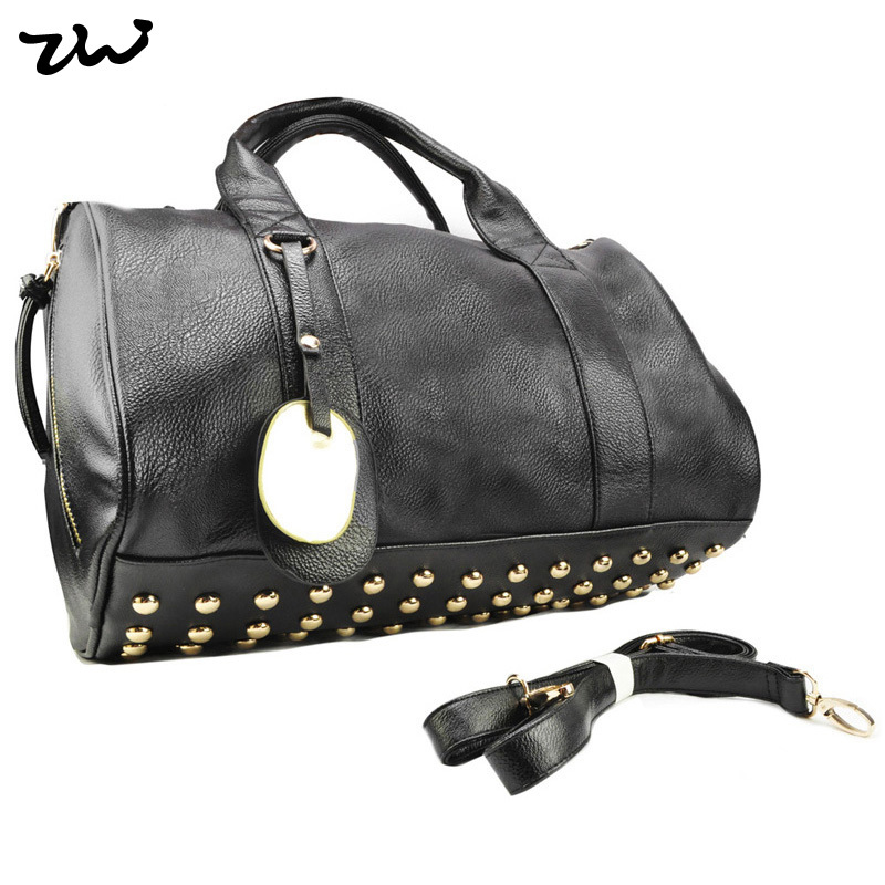 8Color Star Products! guaranteed 100% Rivets decoration handbags fashion  2015 new women bags handbag bag QQ1348 831d9dc7713a4