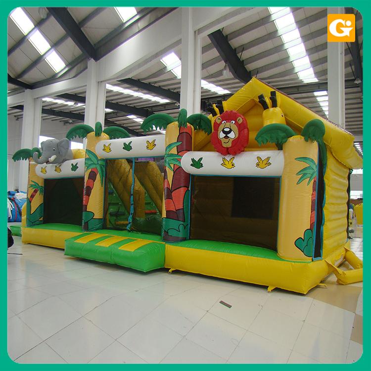 Inflatable Castle Jumping Bouncer SLIDE PVC