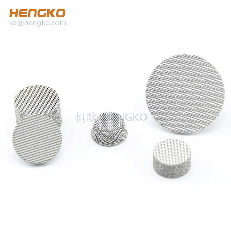 Sintered 5 10 40 100 micron porous 316L stainless steel filter wire mesh for dust filter