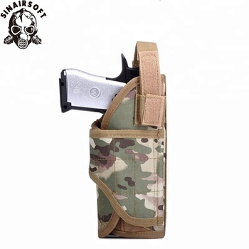 Wholesale Right handed Military Adjustable Airsoft Hunting Pouch Tornado multiple MOLLE Tactical Vest Pistol Holster