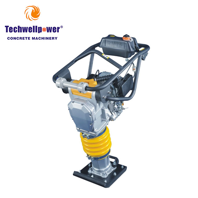 Бензиновая бензиновая почва вибрационная машина Tamping Rammer