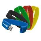 Usb Pen Drive Promotional Wrist Strap Band Bracelet USB Memory Flash Stick Pen Drive Disk 4GB
