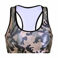 2016 New Sport Bra Top Fitness Women Padded Push Up 3D Gym Shakeproof Seamless Yoga Workout