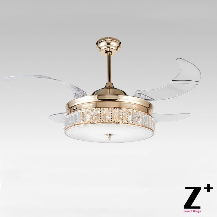 Crystal Chandelier Ceiling Fan: Online Buy Wholesale Ceiling Fan Crystal Chandelier From