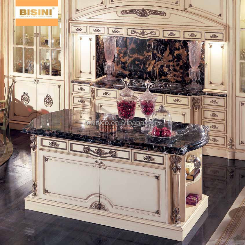 J K Kitchen Cabinets: England Vitoria Style Wooden Kitchen Cabinet,Hand Carved